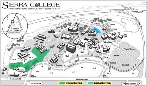 sierra college rocklin campus map Sierra College Biology Department sierra college rocklin campus map